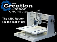 The Creation Station Open Source CNC Router