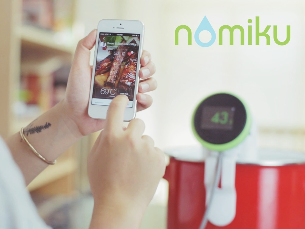 New Nomiku Sous Vide - WiFi-Connected and Made in the USA!'s video poster