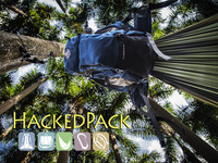 HackedPack: Hammock-Backpack v1.1 and Swift Messenger Bag.
