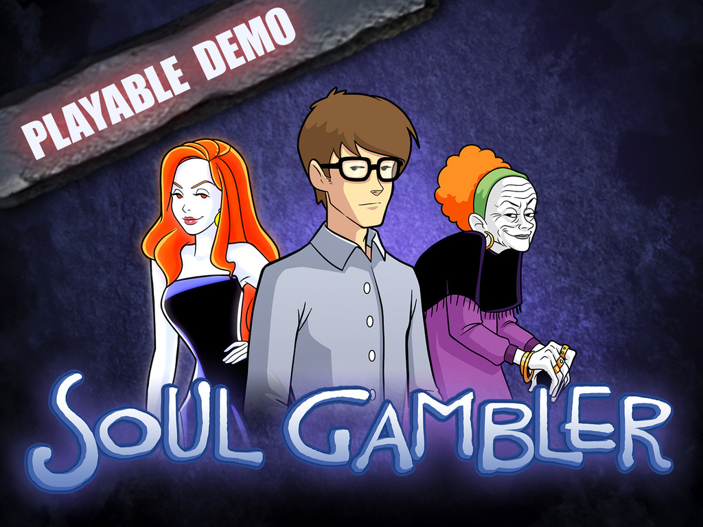 Soul Gambler - solo RPG adventure's video poster