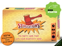 Stipulations party game - Let your negativity shine!