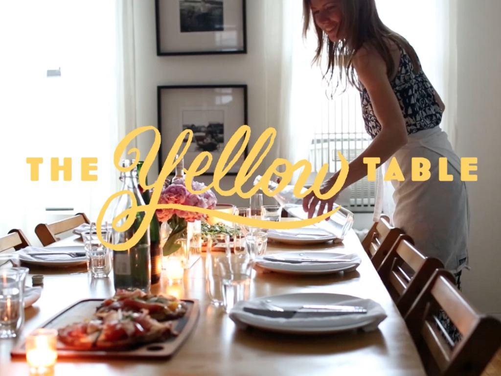 The Yellow Table Cookbook's video poster