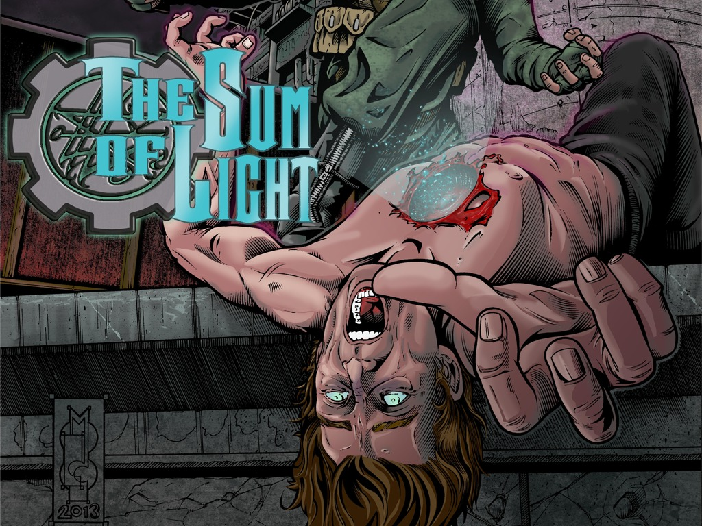 The Sum of Light Issue #2 A Lovecraft inspired Horror Comic's video poster