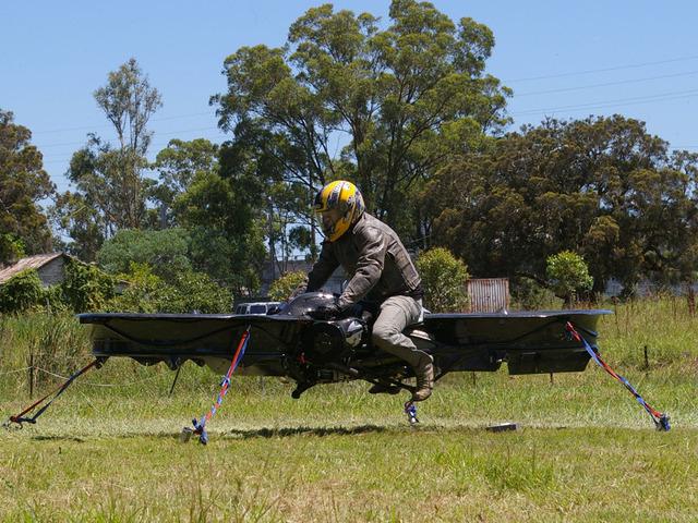 Австралиец собирает деньги на создание «летающего мотоцикла». - Изображение 6