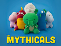 The Mythicals: Handmade Plush Toys