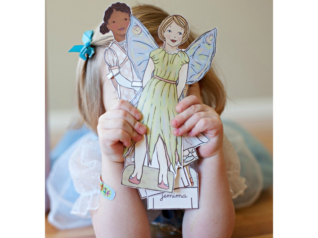 Paper Doll Coloring Book's video poster