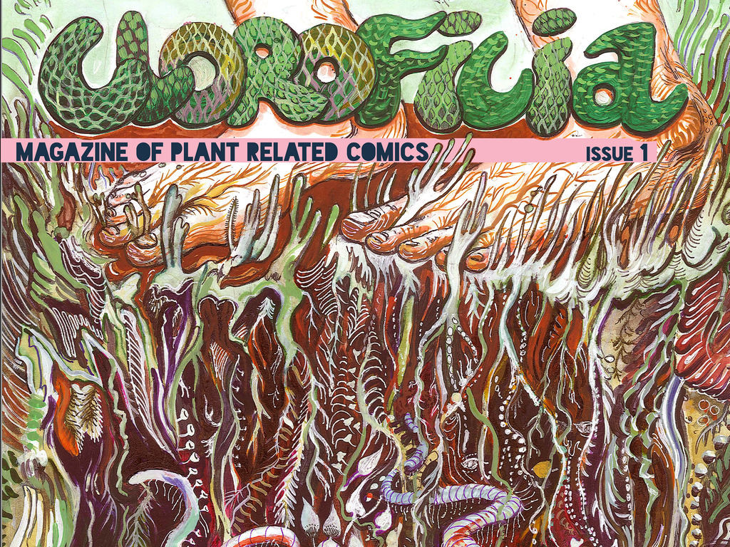 Clorfilia: Magazine of Plant Related Comics Issue 1, Mardikes, Kira