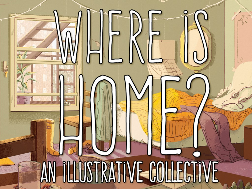 """""""Where is Home?"""" Anthology's video poster"""