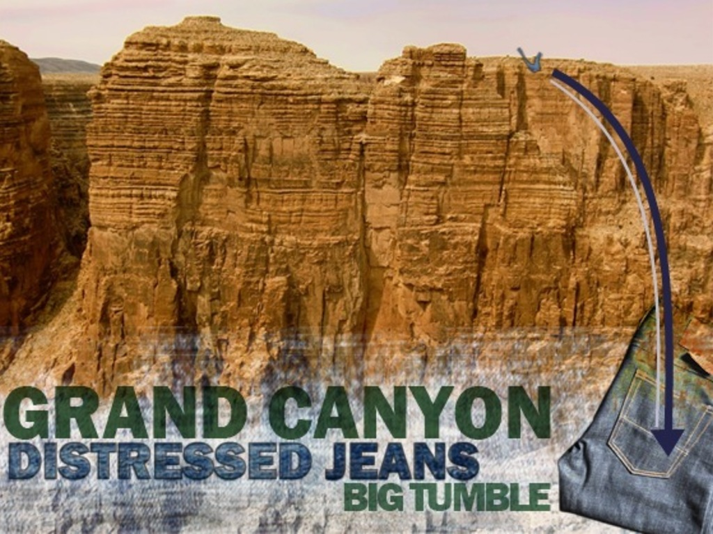 "Grand Canyon ""Big Tumble"" Extreme Jeans Experience's video poster"