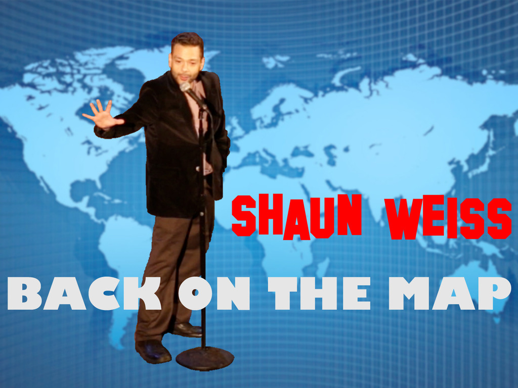 """""""Back on the Map"""" - Comedy tour Documentary's video poster"""