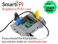 SmartiPi Raspberry Pi B+ and camera case