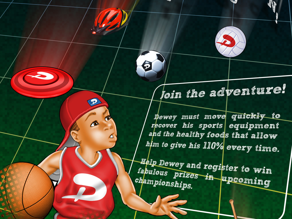 Dewey Does 'Catch Them If You Can' Game's video poster