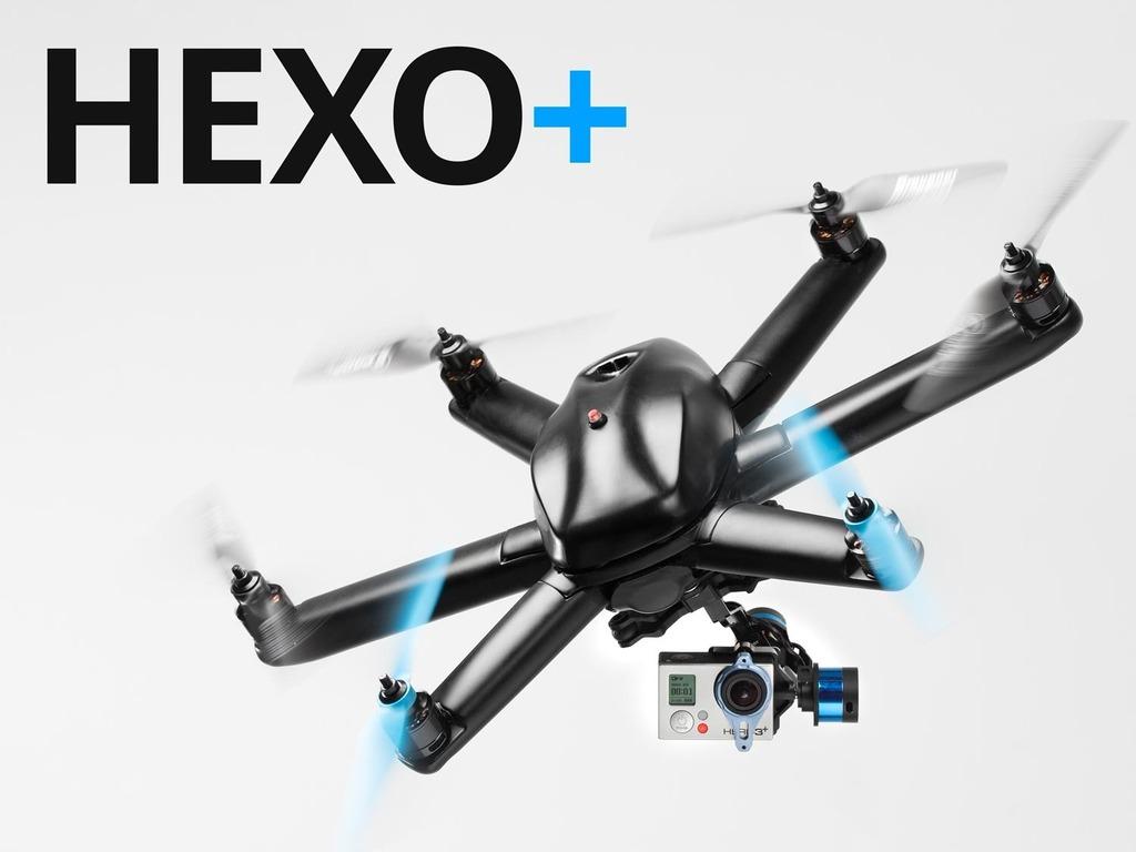 HEXO+: Your Autonomous Aerial Camera - Drone's video poster