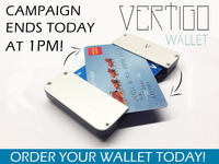 Vertigo Wallet: The minimalist wallet with one BIG twist!