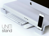 UNITI Stand: For iMacs & Apple Displays. Organize your Desk.