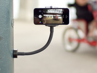 GripSnap: the smartphone/GoPro monopod with a magnetic base