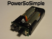PowerSoSimple portable power supply for all your projects