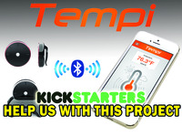 Tempi - A Small Bluetooth Thermometer for Smartphones