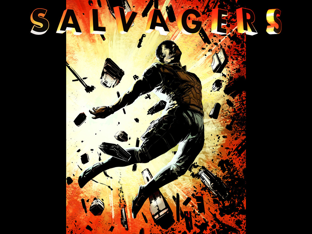 Salvagers Issue 3's video poster