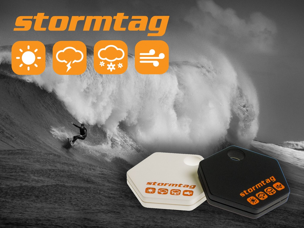 StormTag - A Bluetooth Weather Station. On Your Keyring.'s video poster