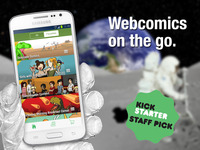 Comic Chameleon: The ultimate webcomics app, Android version