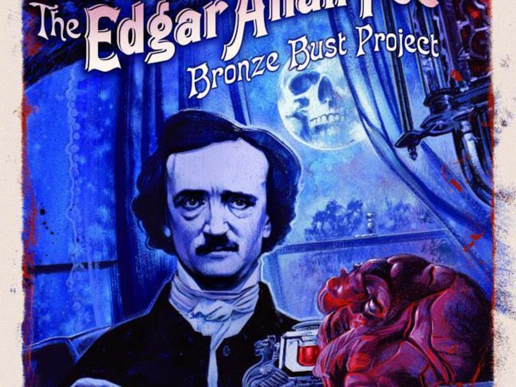 The Edgar Allan Poe Bronze Bust Project's video poster