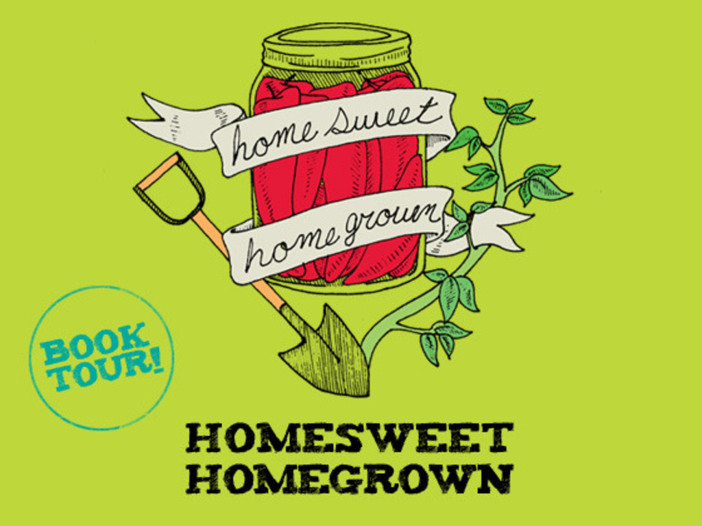 Homesweet Homegrown Cross Country Amtrak Book Tour!'s video poster