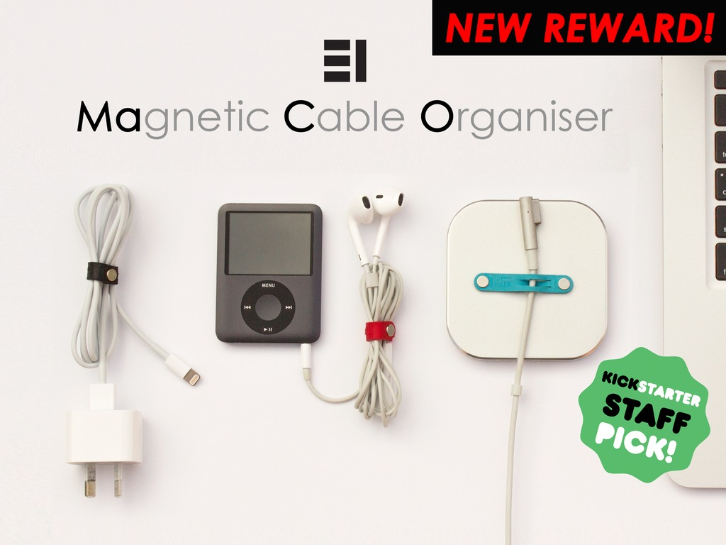 MaCO - Magnetic Cable Organiser's video poster