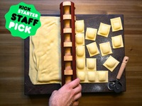 Fonde: The Ravioli Rolling Pin, Perfected.