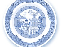 Calamityware dinner plate 4