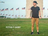 Hugh & Crye Fitted T-Shirts -- Made in the USA