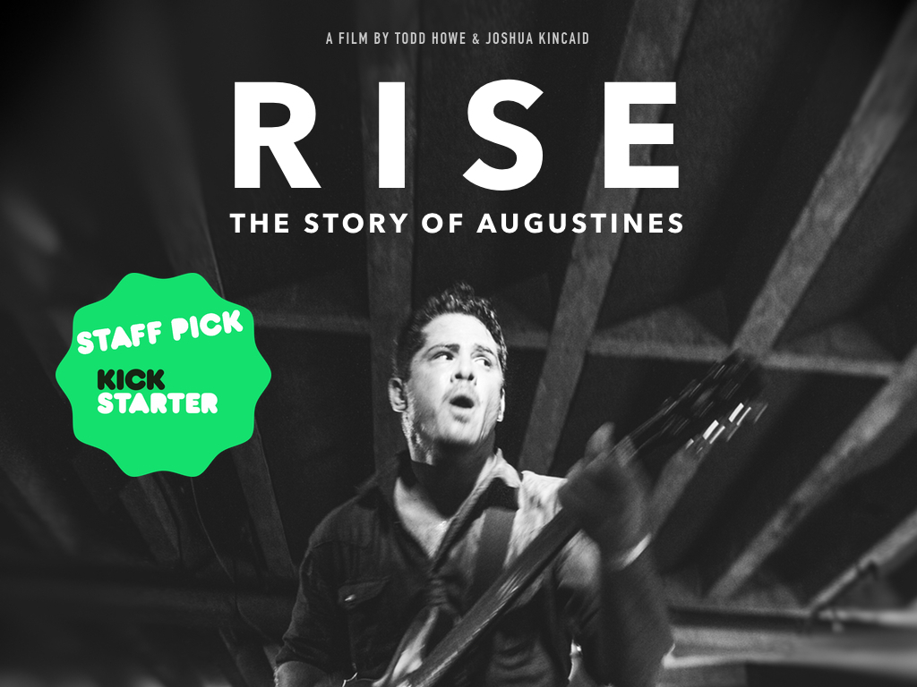 RISE - The Story of Augustines's video poster