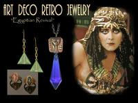 ART DECO RETRO Egyptian Revival Jewelry for Ladies & Gents!