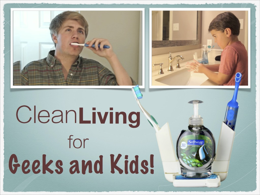 Clean Living with Kids or Geek Trivia's video poster