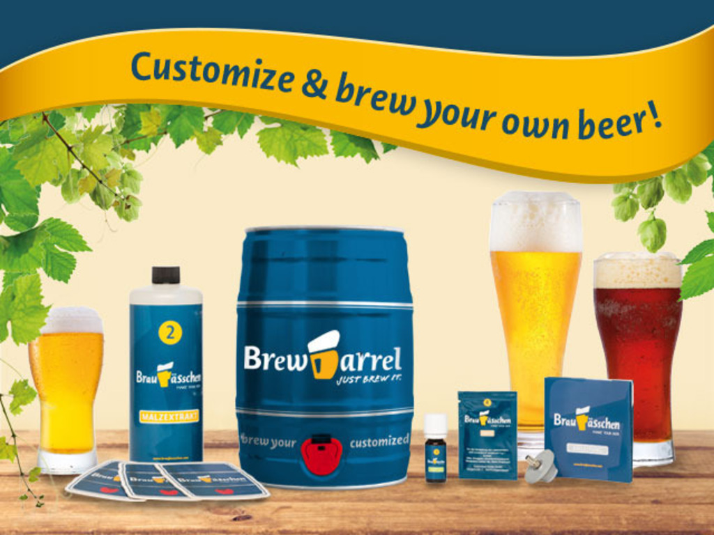 Brewbarrel: fastest and easiest way to brew customized beer's video poster