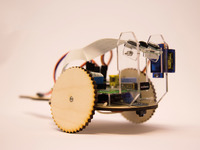 TiddlyBot fun and simple Raspberry Pi Robot