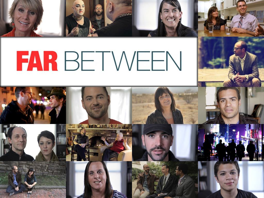 FAR BETWEEN :: a documentary about LGBT Mormons ::'s video poster