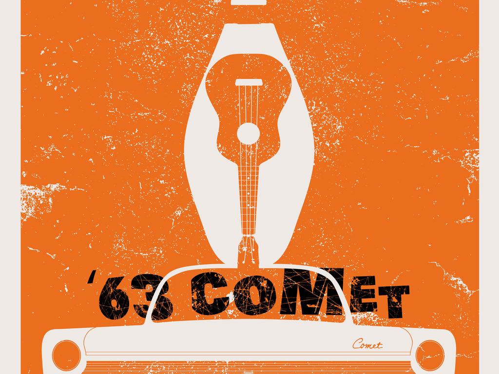 '63 Comet's video poster