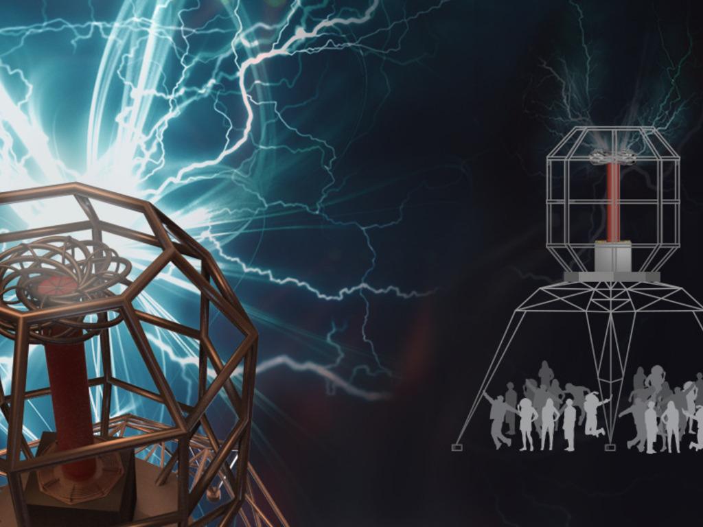 Coup de Foudre: Musical Lightning for Burning Man 2014's video poster
