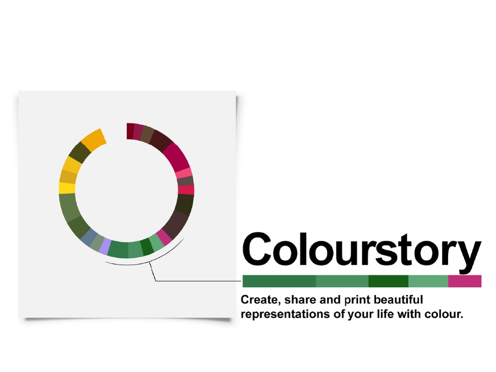 Colourstory: your life, in colour.'s video poster