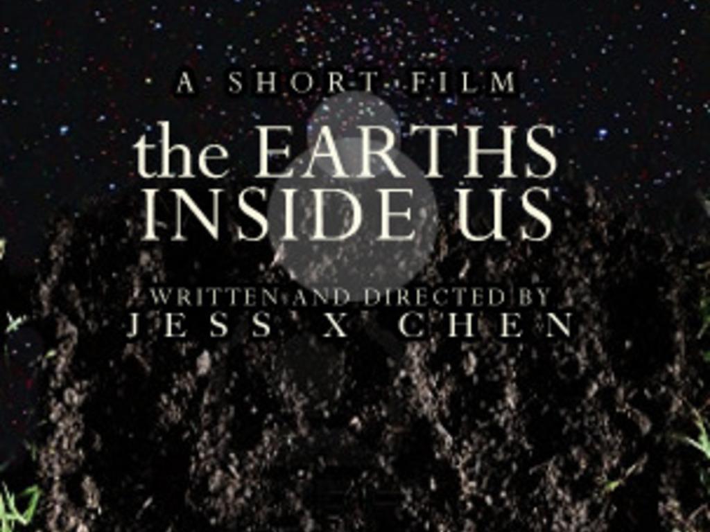 the Earths Inside Us - a RISD junior film's video poster