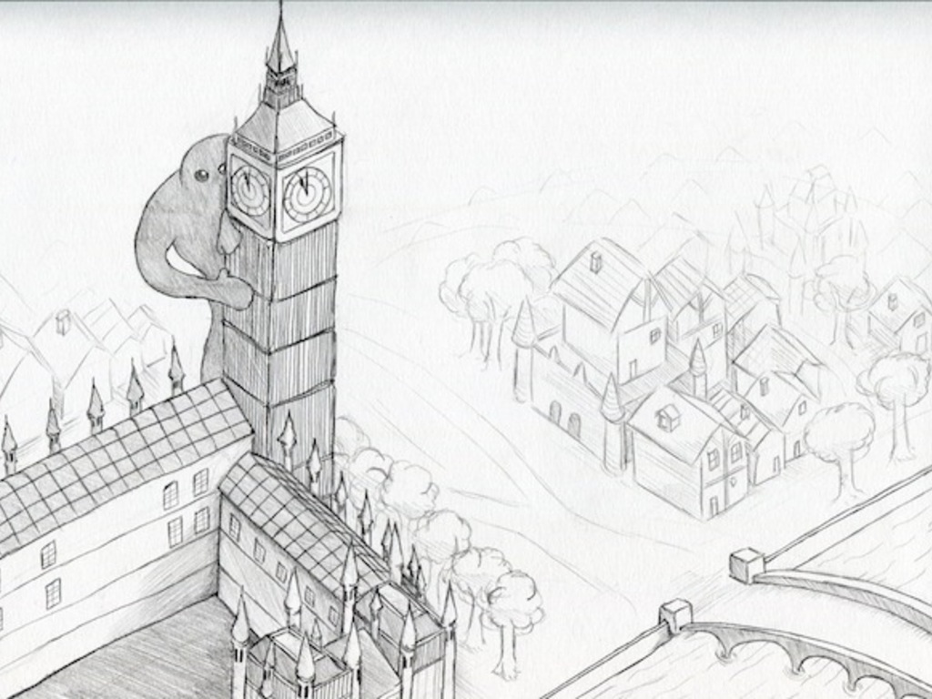 The Giant Of The River Thames: Little Megan's Giant Adventure in London's video poster