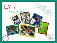 LIFT™ - a vision board that floats!