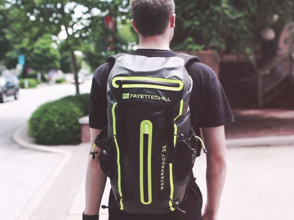 The Journeyman Dry Bag Backpack's video poster