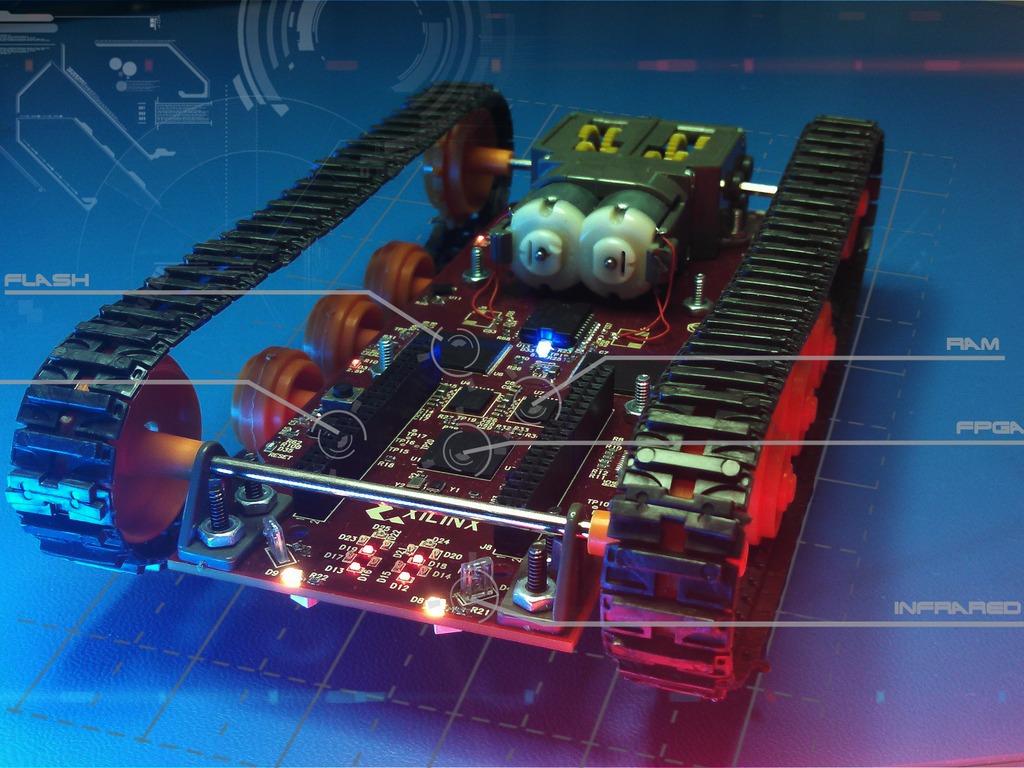 Logitraxx Tracked Robot Kit's video poster