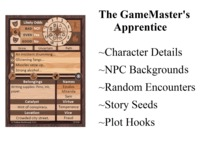 The GameMaster's Apprentice