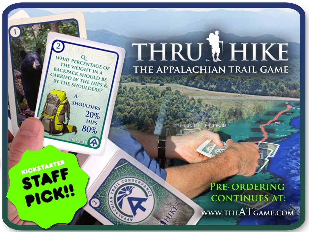 Thru Hike: The Appalachian Trail Game's video poster