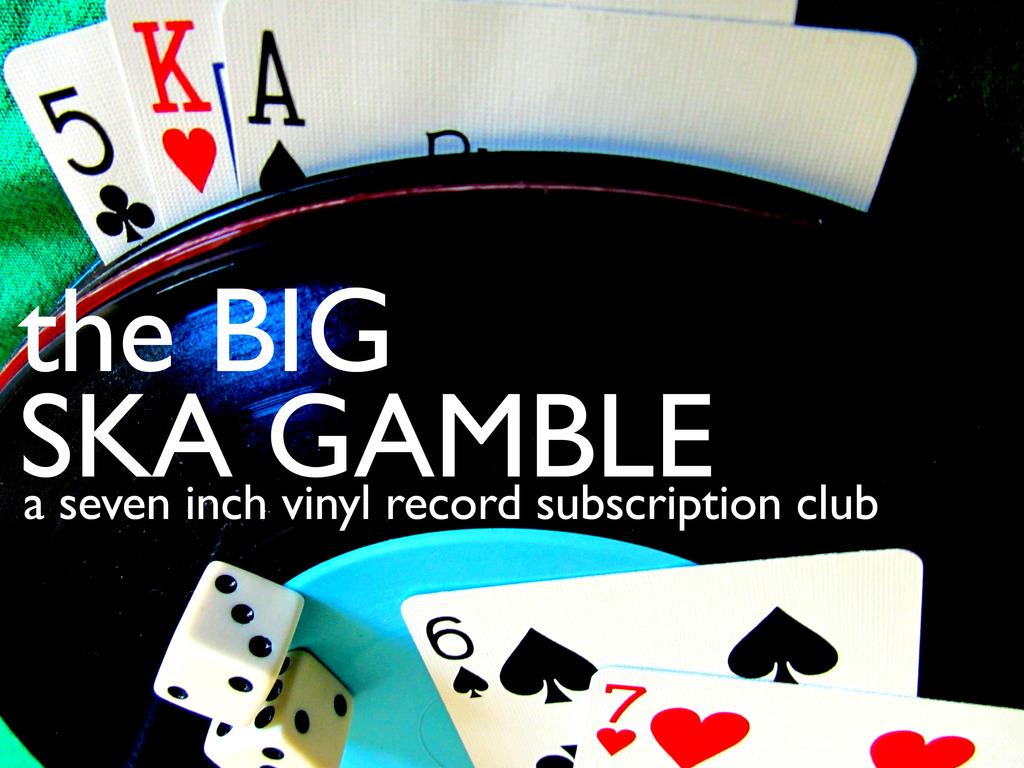 the Big Ska Gamble's video poster