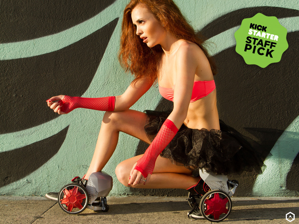 ACTON RocketSkates: World's First Smart Wearable Mobility's video poster
