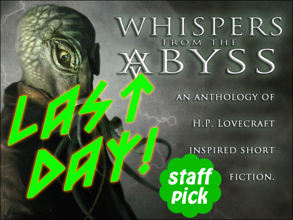Whispers from the Abyss Anthology's video poster